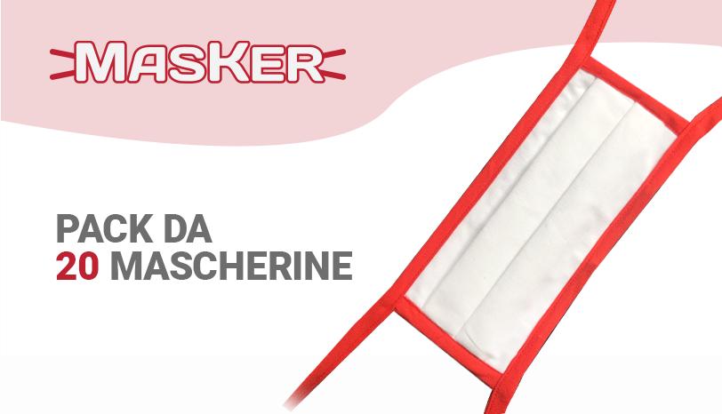 Marzo 2020 - Entrano nel mercato MasKer e EasyMask